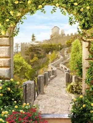 Фотообои Путь к замку 196*260 (8 лист) Тула - фото 56405