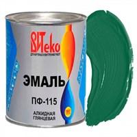 Эмаль ПФ-115 зеленая 0,8 кг ВИТЕКО (эконом) (14)