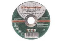 Круг шлифовальный HAMMER 232-028 по металлу A 24 R BF / 115 x 6.0 x 22,23