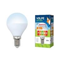 Лампа LED-G45-6W/NW/E14/FR/DIM/O