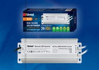 Блок питания UET-VAJ-100B67 24V IP67 2 выхода