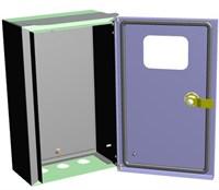 ЩитI P31 ЩУ-МП (360х225х140) IP55 с окном и кронштейном ЭРА