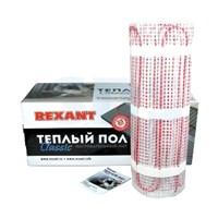Тёплый пол (нагревательный мат) REXANT Classic RNX-11,0-1650 (площадь 11,0 м2 (0,5 х 22,0 м)), 1650 Вт, двухжильный с экраном