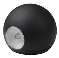 WL11 BK Подсветка ЭРА Декоративная подсветка светодиодная ЭРА 2*1Вт IP 54 черный (20/400)