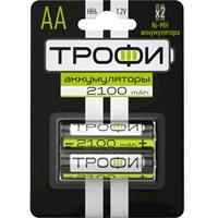 Аккумуляторная батарея Трофи HR6-2BL 2100mAh/20