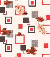 Обои бумажные мойка Корица 7077-12 красные (Гомель) (24)