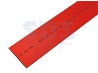 Термоусадка 40,0/20,0 мм, красная 1м REXANT (уп. 10 шт)