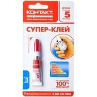 Клей-супер универсальный КОНТАКТ 3г ш/б/10/120  НЗ