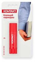 """Клеящий карандаш """"КОНТАКТ"""",  20 г, бл., КК 80 - Б20 КК"""