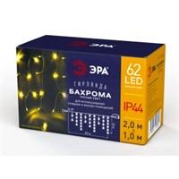 Гирлянда LED Бахрома 2м*1м теплый свет ENOB-2B ЭРА  24V IP44