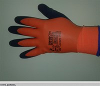 Перчатки утепленные 2Hands 0470 ICE р-р 10 акрил 7G/двойное покрытие латексом/120