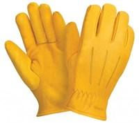 Перчатки 0145 (WR) кожаные КРС утепленные Siberia р-р 10,5