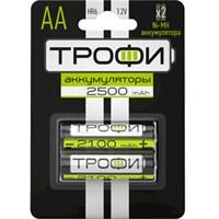Аккумуляторная батарея Трофи HR6-2BL 2500mAh/20