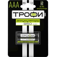 Аккумуляторная батарея Трофи HR03-2BL 950 mAh