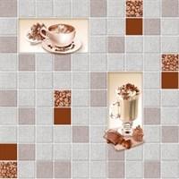 Обои бумажные мойка Латте 5055 серо-коричневые (Фокс) /24