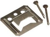 Крепеж для вагонки и панелей,  (Кляймер) 4 мм Упак = 100 шт
