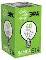 Лампа накаливания ЭРА-ДШ40-230-E14-CL/100