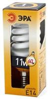 Лампа энергосбер. ЭРА 11 Вт тепл.свет F-SP-11-827-E14