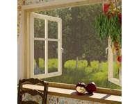Москитная сетка для окон без крепежной ленты 110х130см Сивка Бурка