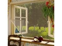 Москитная сетка для окон с крепежной лентой 110х130см Сивка Бурка