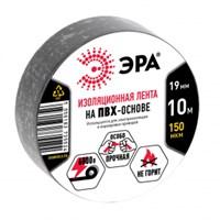 ЭРА ПВХ-изолента 19мм*10м черная (10/500/10000)