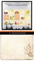 Наклейка Кухонный фартук-фрукты 1105 REA