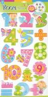 Наклейка Цифры для девочек 0805 RCA