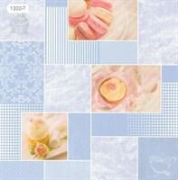 Обои бумажные мойка Вкус 1300-7 голубые (Пермь) (25)