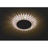 DK LD24 CHP/WH Светильник ЭРА декор cо светодиодной подсветкой Gx53, шампань (50/800)