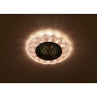 DK LD5 PK/WH Светильник ЭРА декор cо светодиодной подсветкой MR16, розовый (50/1400)