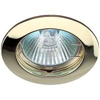 KL1 GD Светильник ЭРА литой простой MR16,12V, 50W золото