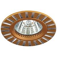 Светильник KL30 AL/GD ЭРА алюминиевый MR16,12V, 50W золото/серебро
