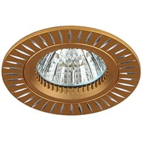 Светильник KL31 AL/GD ЭРА алюминиевый MR16,12V, 50W золото/серебро