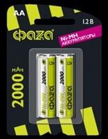 Аккумулятор размера AA ФАZА AA 2000мАч BL-2/20