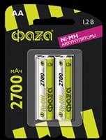Аккумулятор размера AA ФАZА AA 2700мАч BL-2/20