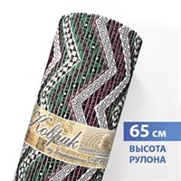 Коврик напольный из вспененного ПВХ 0,65х15м 67160 4С (Ракушки зелено-голубые)