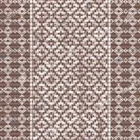Коврик напольный из вспененного ПВХ 0,65х15м 67160 7016 (Орнамент коричневый)
