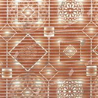 Коврик напольный из вспененного ПВХ 0,80х15м 67170 V21BG (Геометрия коричневая)