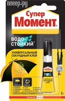 Клей МОМЕНТ-СУПЕР Водостойкий мульти-карта 3гр.
