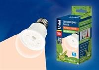 Лампа д/растений LED-A60-10W/SPFR/E27/CL PLP01WH