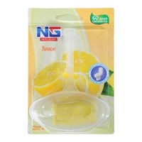"""Освежитель для унитаза подвесной NEW GALAXY """"Лимон"""" 40гр. 1шт, блистер"""