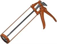 Пистолет для герметика скелетный усиленный с фиксатором 6-гр штоком SPARTA