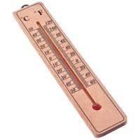 Термометр деревянный Классик малый INSALAT, блистер, 20х4см