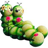 GREEN APPLE Фигурка садовая Гусеницы 31*19*21см
