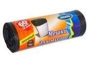 Мешки для мусора АНТЕЛЛА  60л/10шт/LDPE/26мкм