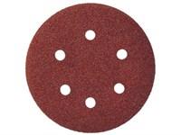 """Круг абразивный 125 мм, зерно 80, без отв., Velcro, 5шт./уп. """"Ziflex""""  563103"""