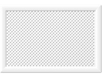 Экран для радиатора Глория белый 90х60см Stella