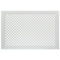 Экран для радиатора Готико белый 90х60см Stella