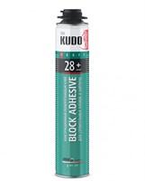 Клей полиуретановый всесезонный для строительных блоков KUDO PROFF 28+