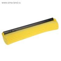 Насадка для швабры PVA с роликовым отжимом 27 см, цвет МИКС